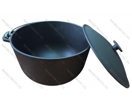 Казан чугунный 12 литров (котелок)