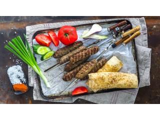 Люля-кебаб из фарша. Рецепт на мангале
